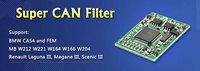 5 PCS/Lot Super CANEMU CAN Filter support CAS4 and FEM, MB W212 W221 W164 W166 W204, Renault Laguna III, Megane III, Scenic III