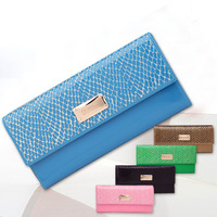 Fashion Genuine leather women wallets brand wallet card holder coin case female wallet long purses clutch wallet  WFCCL01241