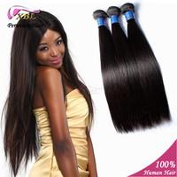 3 pcs/lot Black Straight Bundles Cheap Peruvian Hair 100% Human Virgin Hair Natural Remy Queen Hair Extension Can Be Customized