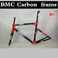 BMC IMPEC Carbon Road bike Frameset ,light weight carbon bicycle frame,color B1 carbon frames,size 50/53/55 in stock