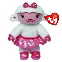 Free Shipping New 2014  Original TY  Doc McStuffins Kids Plush Toys Kawaii Lambie Sheep Animals Stuffed Dolls For Children 16CM