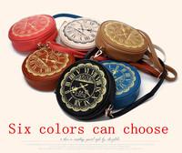 2014 small bag doodle vintage one shoulder cross-body women's handbag female fashion women's handbag clock bag