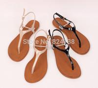 2014 New fashion women flat sandals summer flip flops shoes,free shipping.#2076