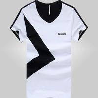 free shipping men's t-shirt , 2014 spring man casual t shirt 23