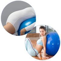 Anti-burst 85CM Gym Home Exercise Fitness Balance Pilates Aerobic Yoga Ball Fitness Ball Exercise Ball Gym Ball With Air Pump