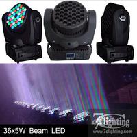 Free shipping Now ! Professional RGBW 36x5W LED Moving Head Beam Light,Mini Moving Head Wash Moving Head 36pcs 5W CREE LED