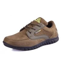 Free shipping hiking shoes men trekking shoes hunting shoes men waterproof climbing shoes for men khaki and black