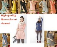 Best quality women dress, long sleeve T shirt base & under shirt  more colour to choose