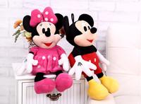 100cm Minnie and Mickey plush toys skin, mickey mouse toys jackets, teddy bear skin coat Teddy Bear