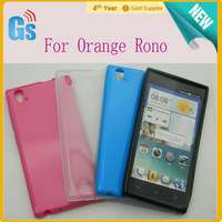 New Hot Sale!! Smooth Jelly Design TPU Gel Skin Case Cover For Orange Rono Free Ship
