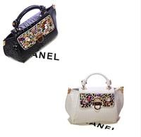 Mikko2014 shiny crocodile pattern bag high quality luxury fashion one shoulder handbag cross-body women's handbag
