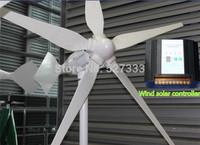 1000W 24V Wind Generator,Turbine,Windmill,Electromagnetic Brake Function+1800w Wind Solar Controller(1000W Wind+800W Solar)
