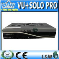 5pcs/lot VU SOLO PRO,vu+solo pro DVB-S2 HD Linux Enigma2 Satellite Receiver (NO CI Slot and Scart Connector),Free shipping