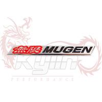 KYLIN STORE -- NEW 3D For MUGEN Emblem Metal Aluminum Trunk Badge STICKER LOGO top mugen