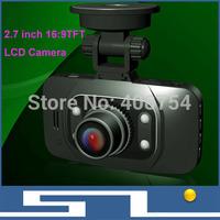 Car Mini DVR HD 1280*960P IR 4 LEDs night vision  Camera, 2.7 inch 16: 9 TFT LCD Camera Recorder, Russian Car DVR Free shipping