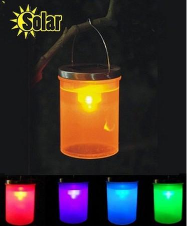 2pcs/lot Outdoor new solar lanterns, solar lamps, chandeliers, the lantern, outdoor garden lights night chandelier lamp lantern(China (Mainland))