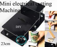 Handmade Miniature Table Saw woodworking Super mini Electric saws Cutting Machine Model DIY