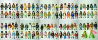 """7.2cm(2.38"""")100Pcs Different City Police And MiniFigures 25pcs/lot Building Block  Figures Classic Toys  Random Send"""