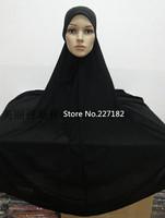 large black colorful cotton Shila Amzah style Muslim hijab headscarf base m hat cap cover for islamic women A1416