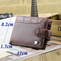 Promotion Casual Wallets For Men New Design GOOD Leather Top Purse Men Wallet With Coin Bag Wholesale Free Dropshipping
