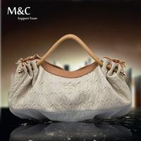 New Hot Sale Women Fashion Hong Kong Shoulder Bags Women Leather Handbags Dumpling Bag Popular Folding Handbag Chain Bag SD-050