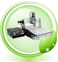 CNC 6040Z-4S engraving machine with 1500W spindle, 4th Axis cnc6040 engraver with rotary axis