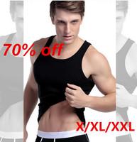 Men undervest wholesae HOT!Free Shipping 2014 New Casual tank tops summer vest men cloting L-XXL