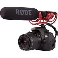 Rode VideoMic On Camera Mounted Shotgun Mic Microphone for Canon T3i 5D2 7D 60D 70D 5D3 Nikon D800 D600 D700