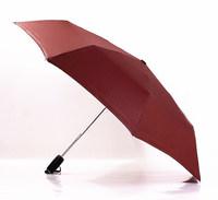 2014 free shipping men's women's automatic business umbrella high-quality travel three folding umbrella Rechar004