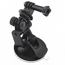 Sports Action Camera Mount Car Window Mount Tripod For Camera, Car Suction Cup Mount For GoPro HD Hero1/2/3 Free Shipping