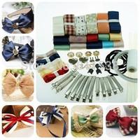 mix diy ribbon for hair accessory material,handmade ribbon set and ribbon and hair clips material set