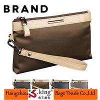 B.King 2014 New Famous Brand Big Capacity Men Wallets With Strip , High Quality Canvas Billetera Men Clutch Business Handbag