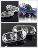 New 2Pcs Clear Lens Side Marker Housing Cover Caps For 1999-2004 VW Volkswagen Golf Jetta Bora Passat B5 B5.5 99-03 New Beetle