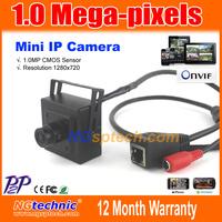 New 720p HD Mini IP Camera Megapixel 1280x720 H.264 ONVIF, Mini network camera