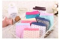 new sale cute dot Print briefs women's girl's underwear/1 pcs/lot /Bamboo Fiber lovely underwear 10 colors free shipping/WOB