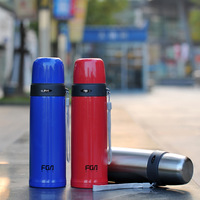 500ml double wall stainless steel vacuum water bottles,Printing your logo is available,Keep warm and cold,Great gift