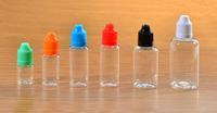 Color & Childproof caps 100pcs 10ml Empty Plastic Squeezable Dropper Bottles Eye Liquid E-juice Dropper PET