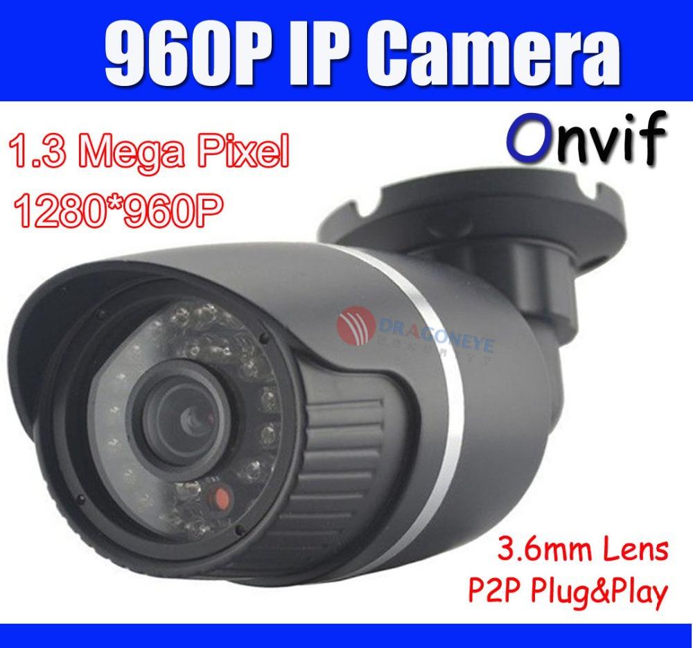 Камера наблюдения DRAGONEYE 960P IP/p2p XMEYE 1.3 1280 * 960 IP POE Onvif PC & DE gadinan full hd 48v poe ip camera 720p 960p 1080p ip poe outdoor bullet security camera onvif 2 0 ip66 waterpoof 3 6mm lens