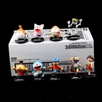 girl boy Japanese anime Cartoon Doraemon Nobi Nobita 9pcs set pvc figure model toys for Children
