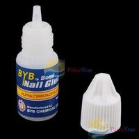 PriceStar 3 X 3g Acrylic Nail Art Glue French False Tips Manicure Worldwide free shipping
