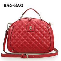 2014 NEW Women's Fashion handbag Genuine leather Shoulder bag Brand Designer Plaid Messenger bags Crossbody bag for girl R131