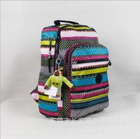 2014 New Arrival Water Resistant Nylon Kip Backpack Nylon School Bag For Girls Multi-function Backpack Free Shipping