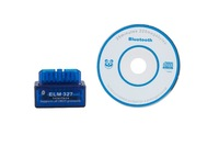 New! Hot Item C2 Model Mini MINI Bluetooth ELM327 obd2 V1.5 car diagnostic tester trip computer with tracking code