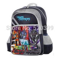 Transformers cartoon/children school bag books bag kids backpack for 7-9 years boys grade/class 2-5  2014 new