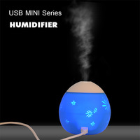 free shipping DC5V Portable  USB water diffuser silicone cover lovely cool mist humidifier best gift(1pc JSQ011)