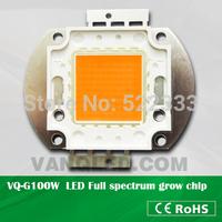 2014new innovation,full spectrum 380nm-840nm 100w grow led,full spectrum cob led chip