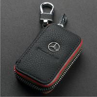 Genuine Leather Automotive Remote Control Bag For S600 E260 S350 C200 C180 E300 c class GLK key Bag Key Case Top Quality