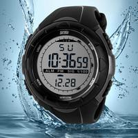 2014 New Skmei Men  Sports Military Watches LED Digital Brand Watch, 5ATM Dive Swim Dress Fashion Outdoor Wristwatches