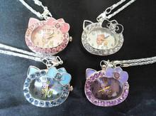 wholesale pendant watch necklace