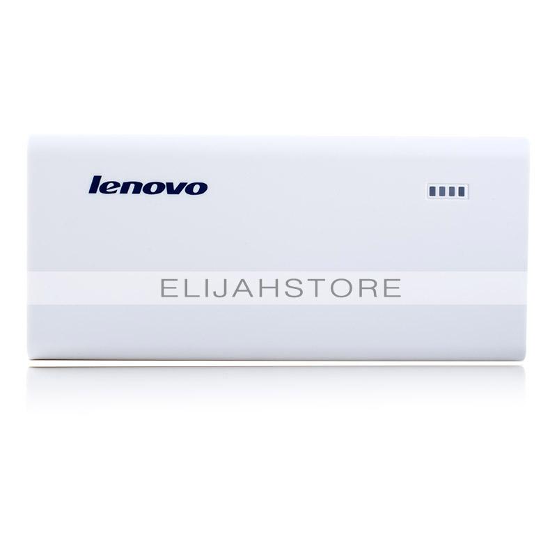 Free shipping original Lenovo Power Bank PA10400 10400mAh mobile power for all the Lenovo mobile phone white portable charger(China (Mainland))
